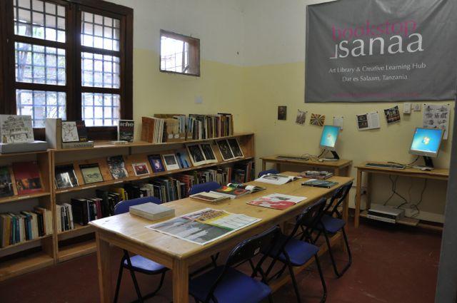 © Bookstop Sanaa Art Library