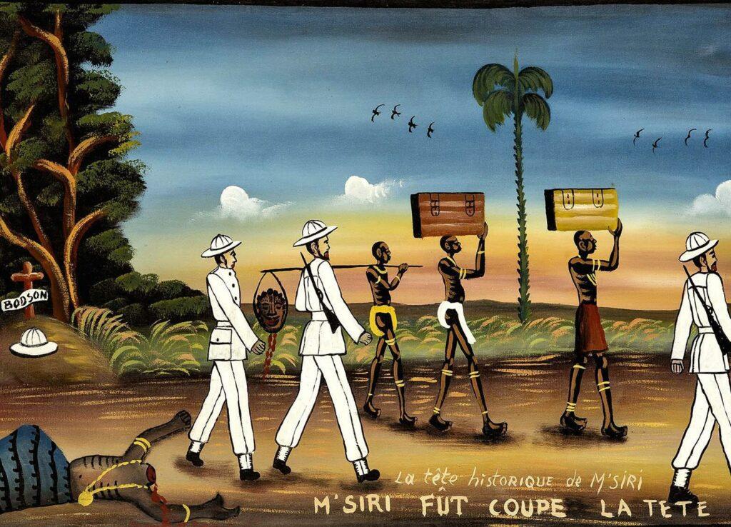 La Tête historique de M'siri, Msiri fût coupé la Tête - Tshibumba Kanda-Matulu