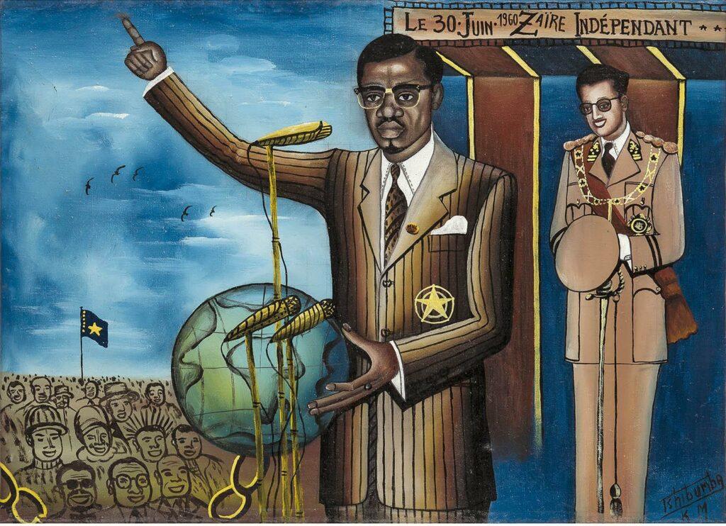 Le 30 juin 1960, Zaïre indépendant - Tshibumba Kanda-Matulu