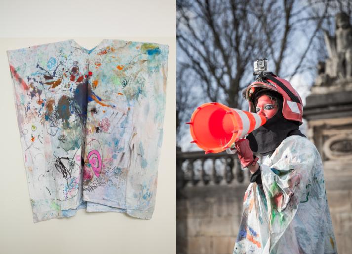 Tracey Rose, Tracings (detail), 2015. Installation. Courtesy Dan Gunn, Berlin and Goodman Gallery, Johannesburg. Photo: Joke Floreal.