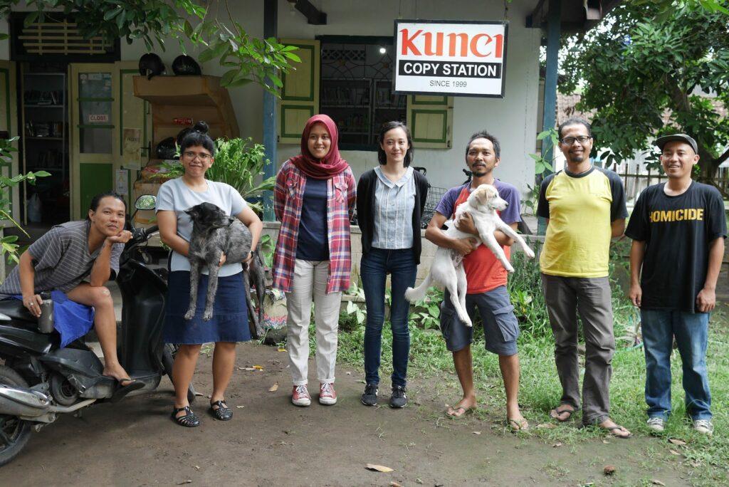 'KUNCI Collective', Yogyakarta, Indonesia // Copyright: Kunci Collective